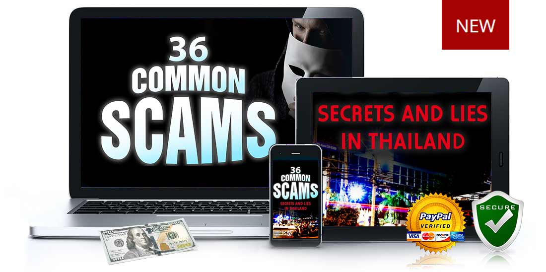 36 Common Scams in Thailand