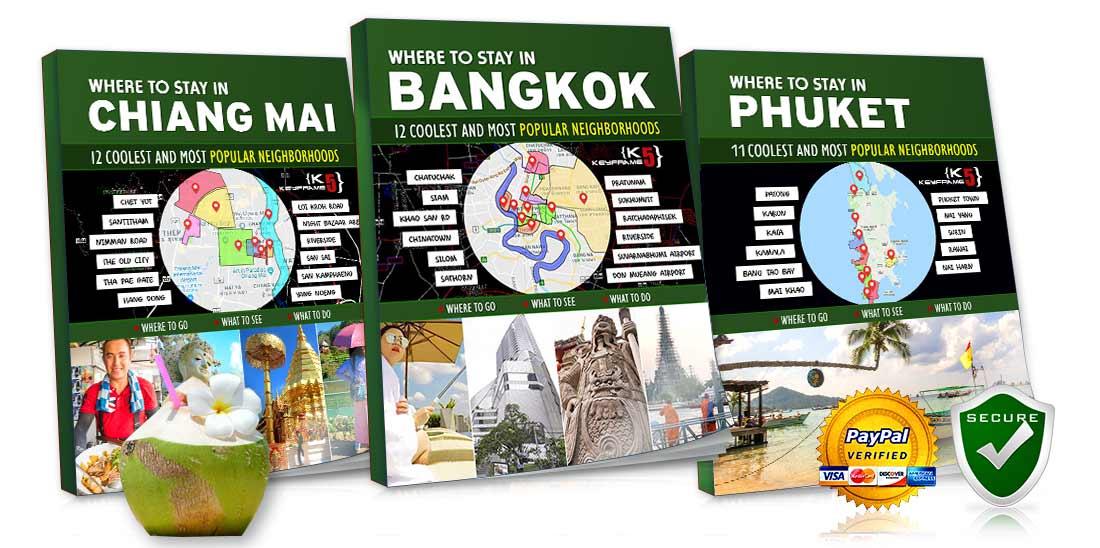 Where to stay in Bangkok, Phuket and Chiang Mai